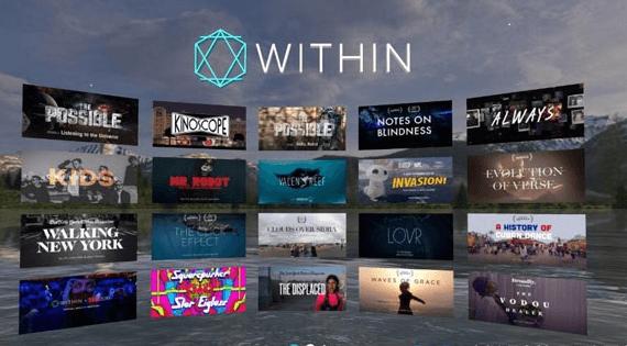 Within成为首个登陆谷歌WebVR的平台