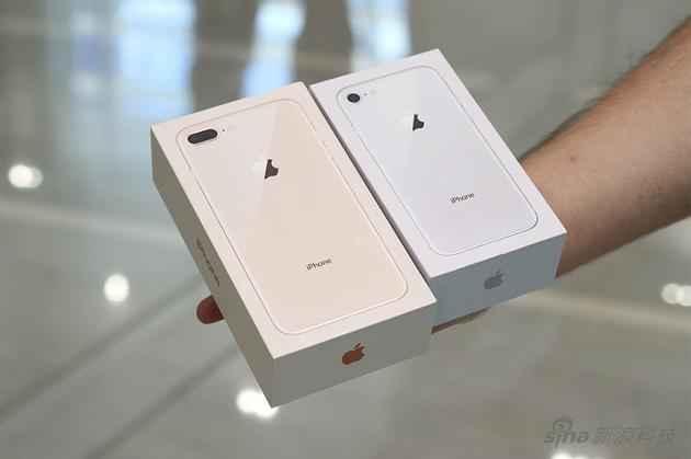 iPhone 8和iPhone 8 Plus