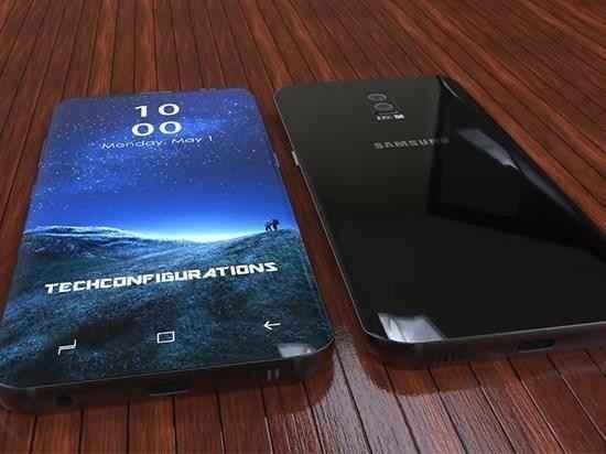 屏占比还要更高?三星S9或明年2月发布:骁龙845全球首发