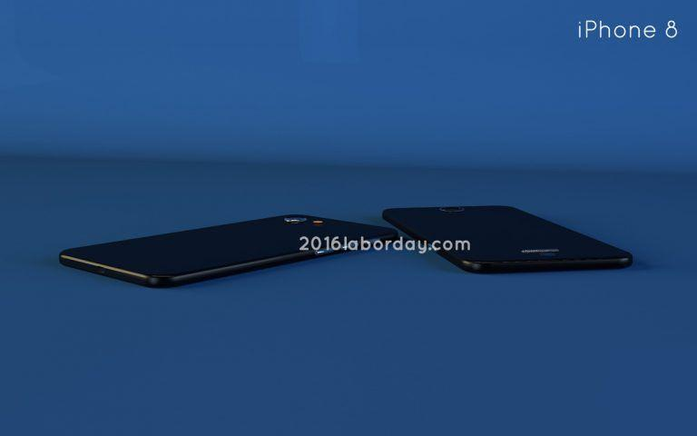 有点圆润采用曲线设计的iPhone 8概念设计